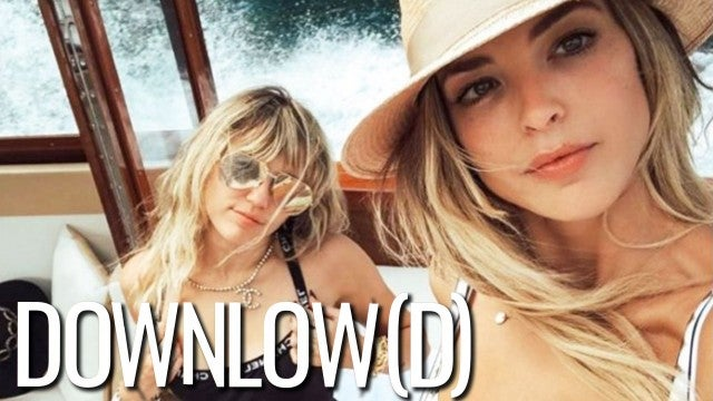 Miley Cyrus and Kaitlynn Carter's Globe-Trotting Relationship | The Downlow(d)