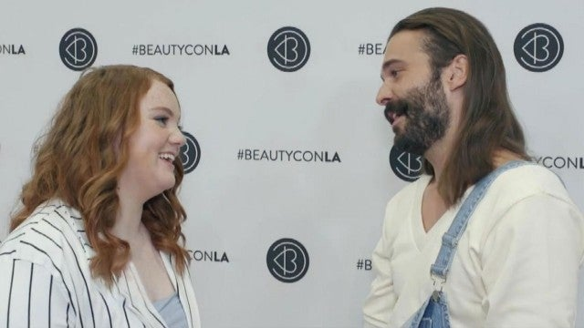 Beautycon Flashback: Watch Jonathan Van Ness and Shannon Purser Meet For the First Time