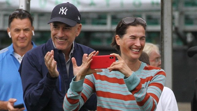 Matt Lauer and Ex-Wife Annette Roque Are All Smiles Together -- Here's Why