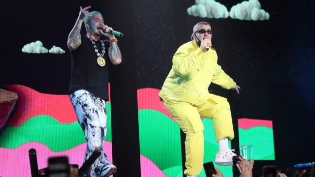 J Balvin and Bad Bunny Pay Tribute to El Paso Victims During Historic Performance at UForia
