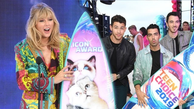 Taylor Swift and The Jonas Brothers