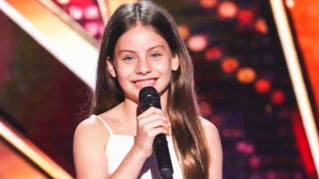 'America's Got Talent': Jay Leno Gives Golden Buzzer to 10-Year-Old Opera Prodigy!