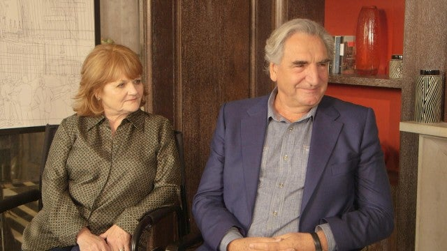 'Downton Abbey' Movie: Lesley Nicol and Jim Carter (Full Interview)