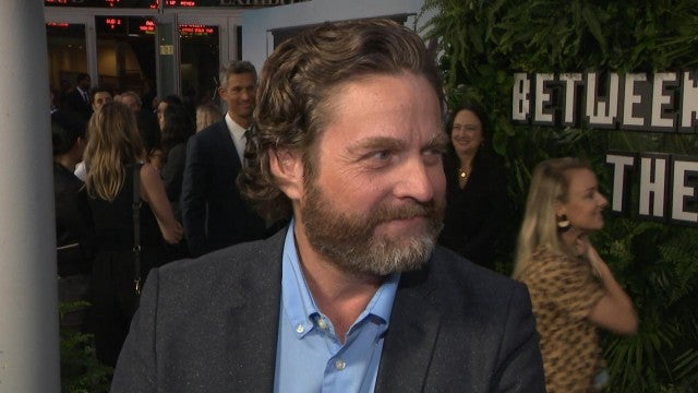 Zach Galifianakis Eats Cake