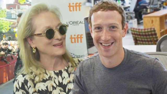 Meryl Streep Is Taking This Hilarious Tech Hack From Mark Zuckerberg to Heart (Exclusive)