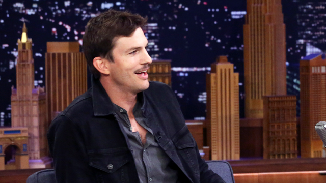 How Adele Inspired Ashton Kutcher's Mustache