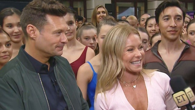 Go Behind the Scenes of Kelly Ripa and Ryan Seacrest's Guinness World Record Stunt