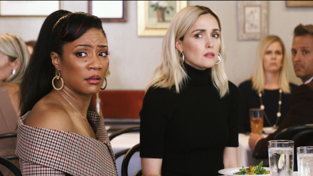 The comedy, starring Rose Byrne, Tiffany Haddish and Salma Hayek, is out Jan. 10, 2020.