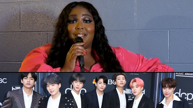 Lizzo Swipes RIGHT on BTS