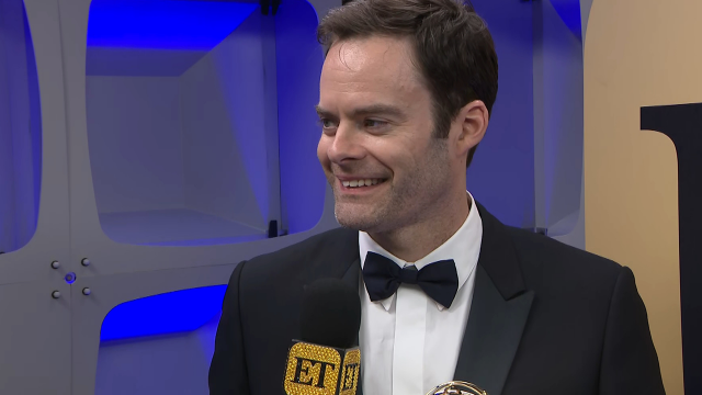 Bill Hader Interview with ET