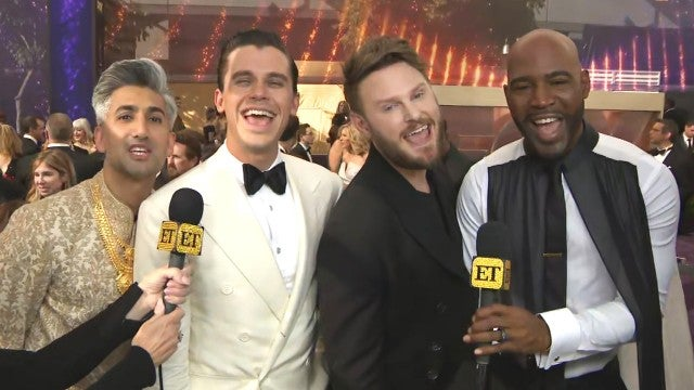 Why the 'Queer Eye' Cast Says Jonathan Van Ness Isn't at the Emmys (Exclusive)