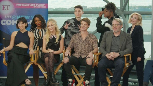 'Daybreak' Cast at New York Comic Con 2019 | Full Interview