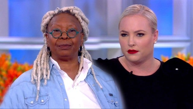 Whoopi Goldberg Lectures Meghan McCain on 'Respect' on 'The View'