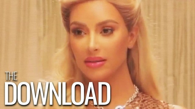 Kim Kardashian Channels Reese Witherspoon In Uncanny 'Legally Blonde' Costume  | The Download