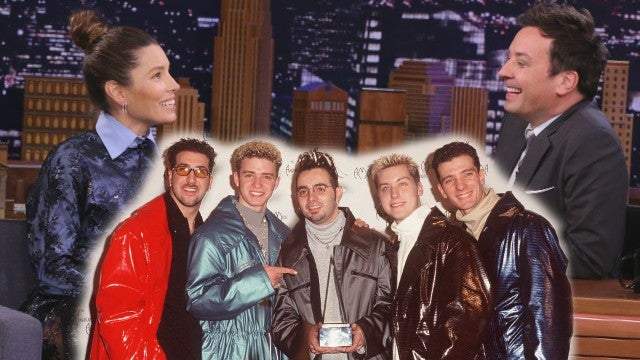 Jessica Biel Reacts to Shading *NSYNC in Hilarious 1999 Interview -- Watch!
