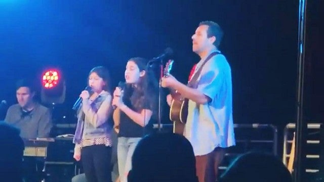 Watch Adam Sandler and His Daughters Sweetly Cover Taylor Swift's 'Lover'