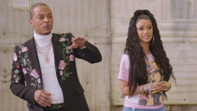 Cardi B and T.I. React to Their Wildest Fashion Moments (Exclusive)