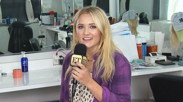 Watch Emily Osment Grill Her 'Almost Family' Co-Stars (Exclusive)