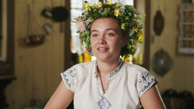 Florence Pugh Reveals Why Filming 'Midsommar' Was Actually a 'Joy' (Exclusive Clip)