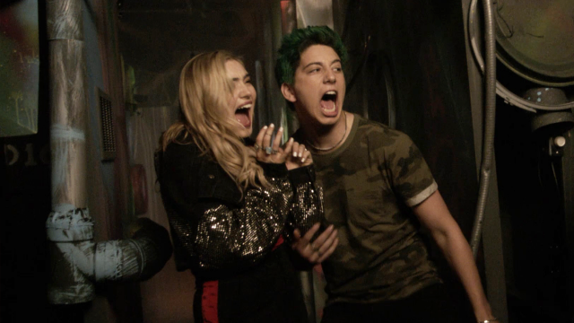 Milo Manheim and Meg Donnelly endure scare after scare