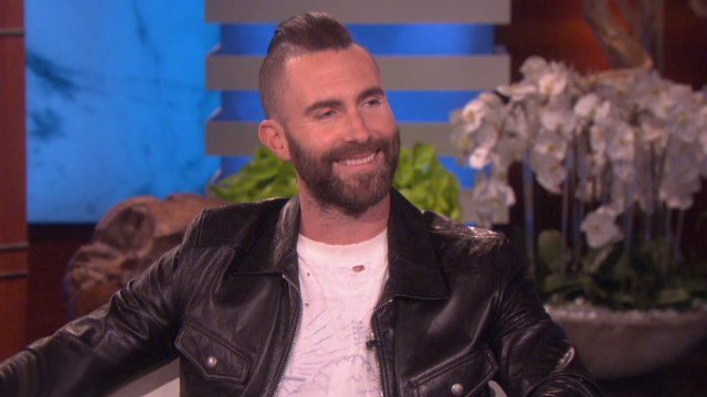 Adam Levine Calls Himself a 'Stay-at-Home Dad'