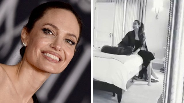 See How Angelina Jolie and Her Family Got Ready for the 'Maleficent' Premiere!