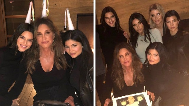 Kardashian Sisters Reunite With Caitlyn Jenner for 70th Birthday