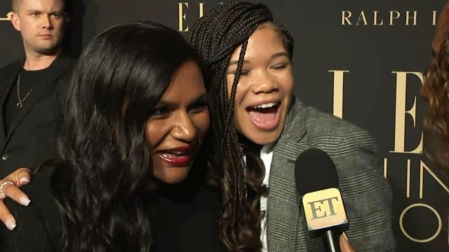 Mindy Kaling Sweetly Says She's Going to Be Working for Storm Reid Some Day (Exclusive)