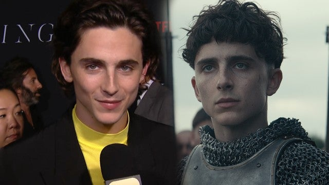 Timothee Chalamet on the Power of His Epic 'The King' Bowl Cut (Exclusive)