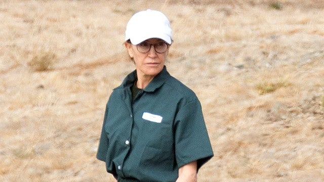 Felicity Huffman Photographed in Prison Uniform During Visit With Family
