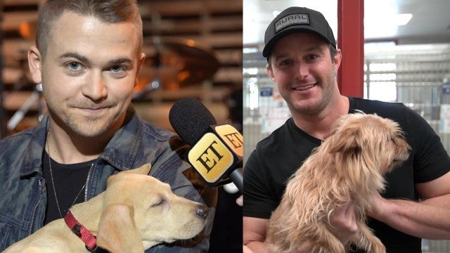 Easton Corbin and Hunter Hayes Spread Awareness About Pet Adoption in the Cutest Way!