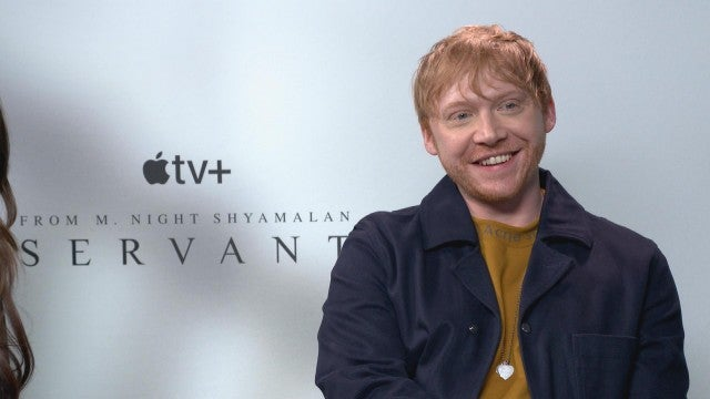 Rupert Grint Talks Romantic 'Sparks' on 'Harry Potter' Set
