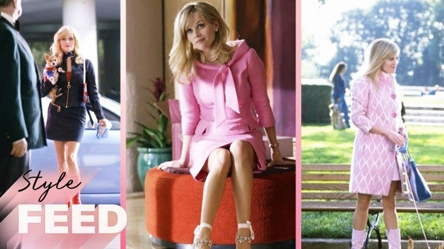 Reese Witherspoon Owns All of Elle Woods' Shoes! | ET Style Feed