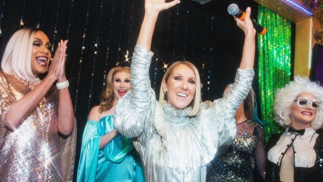 Celine Dion Makes Surprise Appearance at NYC Karaoke Night