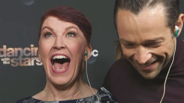 Watch Kate Flannery React to Message From 'Office' Co-Star John Krasinski After 'DWTS' Elimination (Exclusive)