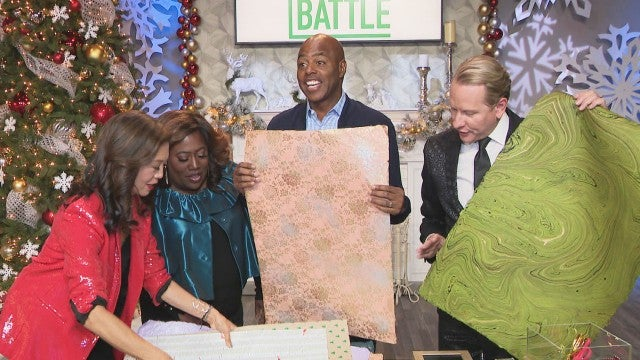 Kevin Frazier Puts His 'Wrap Battle' Skills to the Test (Exclusive)