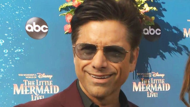 John Stamos Reveals What His Son Thinks of 'The Little Mermaid LIVE' (Exclusive)
