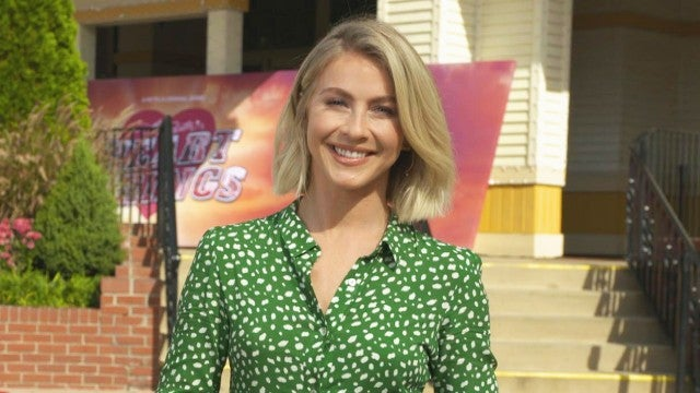 Julianne Hough Gives Tour of 'Dollywood' Ahead of Dolly Parton's 'Heartstrings' Series