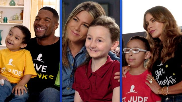 Jennifer Aniston, Sofia Vergara and Michael Strahan Lend a Hand to St. Jude's Children's Hospital