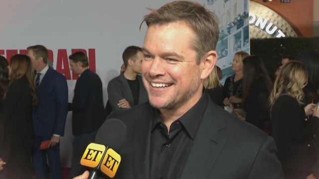 Matt Damon Gives Update on 'The Last Duel' With Ben Affleck (Exclusive)