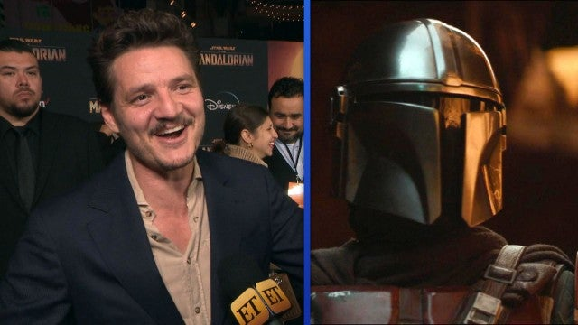 'The Mandalorian': Pedro Pascal Reacts to Internet's Crush on His Faceless Character