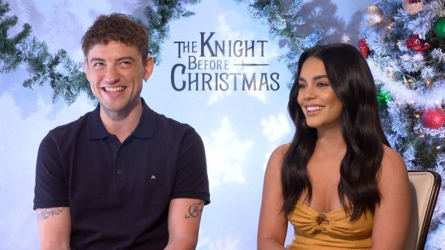 'The Knight Before Christmas': Vanessa Hudgens and Josh Whitehouse (Exclusive)