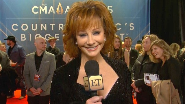 Reba McEntire on What It's Like to Host With Carrie Underwood and Dolly Parton | CMA Awards 2019