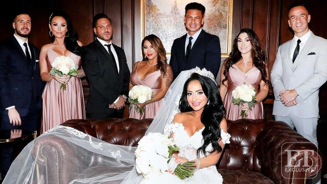 'Jersey Shore' Wedding Drama! How Angelina Pivarnick's Bridesmaids Seemingly Ruined Her Big Day