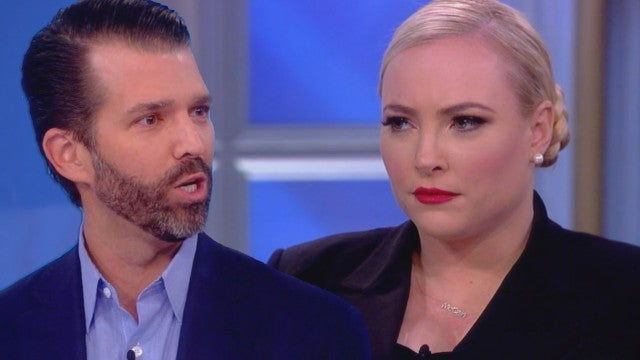 Meghan McCain Confronts Donald Trump Jr. on 'The View'