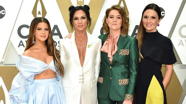 'The Highwomen' Reveal Who Will Be the Godmother to Maren Morris' Baby | CMA Awards 2019