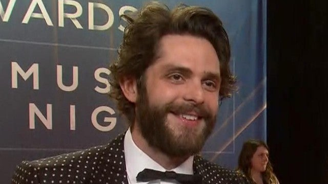 Thomas Rhett on Preparing for Baby No. 3 With Wife Lauren Akins | CMA Awards 2019