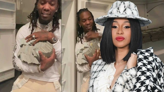 Cardi B Surprises Offset With $500,000 Cash for His Birthday