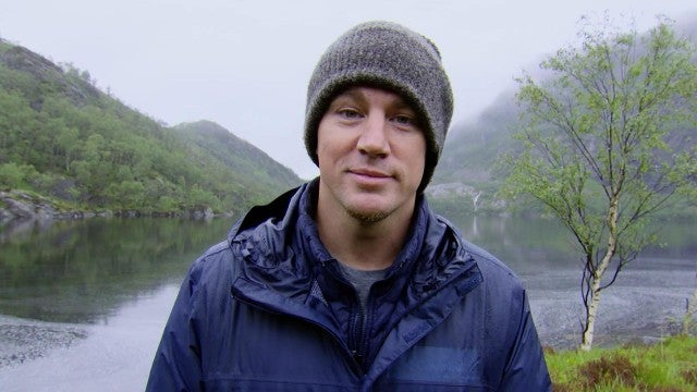 Channing Tatum Struggles to Think Straight in an Ice-Cold River on NatGeo's 'Running Wild' (Exclusive)