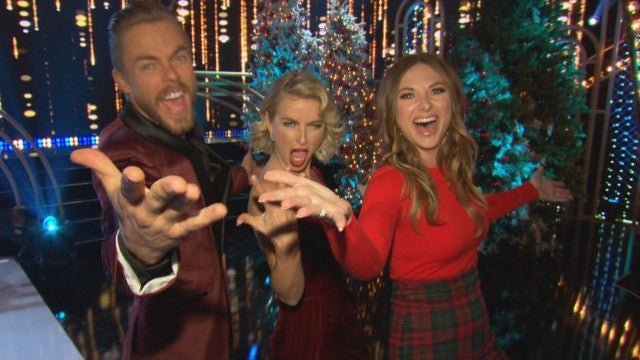 Julianne Hough Says 'Holidays With the Houghs' Is the Hardest Thing She's Ever Done (Exclusive)